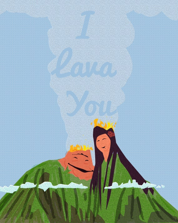 I Lava You Pixar Deutsch