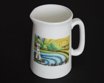 SALE milk jug and sugar bowl of Castle Coch or Roath Park Cardiff