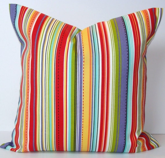 Items similar to Stripe Pillow Sale 24x24 or 22x22 Inch