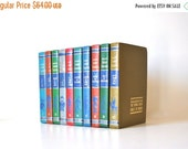 ON SALE The Junior Classics, Vintage Children's Books, Colorful Book Collection - , Young Folks Book Shelf