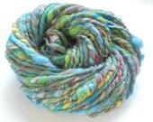 Soft Handspun Yarn - VENICE - Merino, Bamboo, Silk, and Firestar 2-Ply Super Bulky/Chunky Handspun Yarn