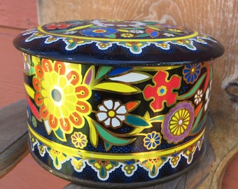 Vintage Tin Container