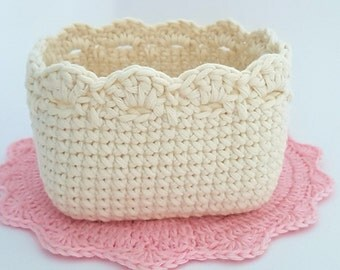 Crochet Basket Pattern Crochet Square Basket Crochet Pattern