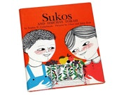 "Vintage 1963 ""Sukos And Simchas Torah"" Illustrated Hardcover Children's Book"
