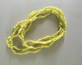 Light Green Bamboo Necklace