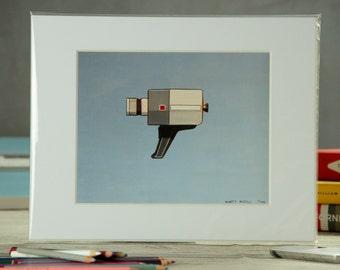 Print - '60s Super-8 Camera