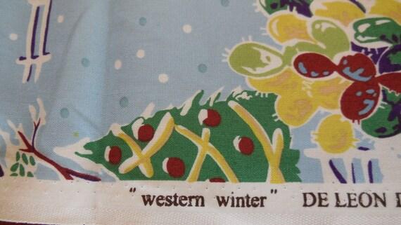 Western winter light blue deleon design group for Winter design group