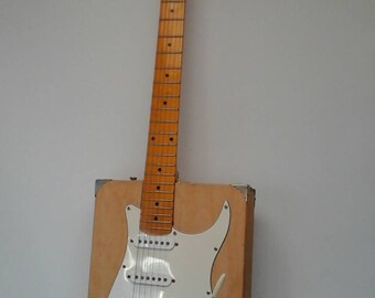 Artist's Box Electric Guitar with Whammy Bar, Gigar Box Guitar