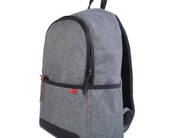 Daily Simple Backpack (Gray)