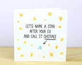 30% SALE - Your Ex is a... - Anti Valentine's And Break Up Card