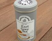 Earl Grey Vintage 3-1/2 oz. Tea Tin by Yankee Trader in Light Gray