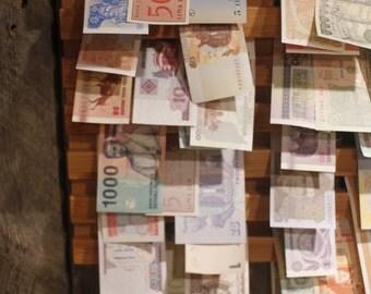 World Money Wall Art