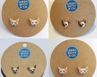 Custom earrings featuring your pet!