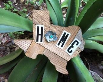 Texas Home License Plate Art