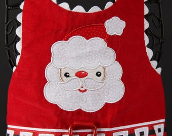 CHRISTMAS:  Santa Dog Harness