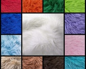Mohair bundle fur samples
