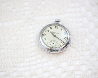 Vintage St. Regis Pocket Watch for Parts or Upcycle