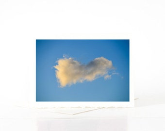 Abstract Heart Shaped Cloud Blank Photo Greeting Card, Photo, Wall Print, for Him, Boyfriend, Husband, Her, Girlfriend, Wife