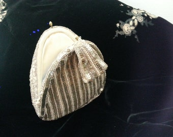 SEQUIN, BEAD Evening Bag from the 20's