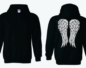 Angel Wings Adult Hoodie
