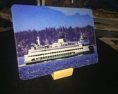 2 Ferry Puyallup  & Kittitas Glass Cutting Board 7.75in  x 10.75in