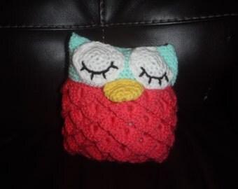 Crochet Plush Owl Doll! FREE SHIPPING!