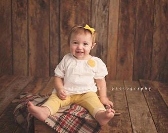 YELLOW BOW HEADBAND, Newborn Headband, Bow Headbands, Small Bows, Baby Headband, Yellow baby Headband, Bow Headband baby, Yellow Headband
