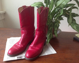 Vintage cowgirl show boots