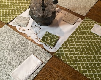 Placemats Napkins Coasters - Set of 4