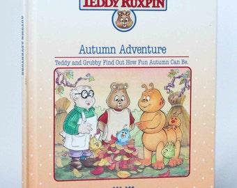 Teddy Ruxpin Autumn Adventures book 1986 - Book Only