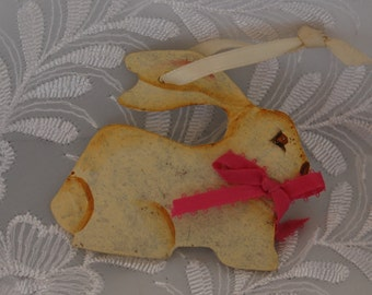 Wooden Rabbit Ornament