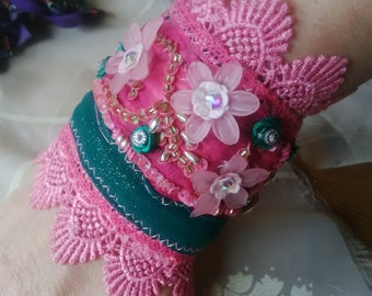 fairy cuff bracelet at funkycrafts
