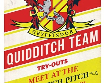 Gryffindor Quidditch Tryouts