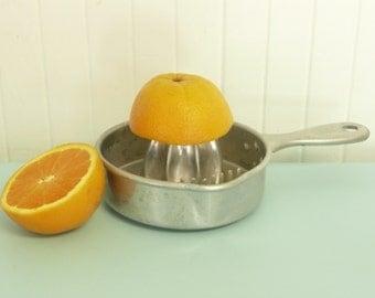 1950s Aluminum Lemon Reamer, Kwicky Brand Juicer, USA - Vintage Travel Trailer Decor
