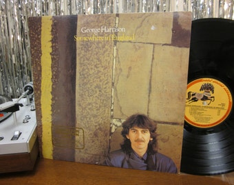 George Harrison - Somewhere In England - Promo Copy - w/ Printed Inner Sleeve - Highly Recommended Beatle Solo LP