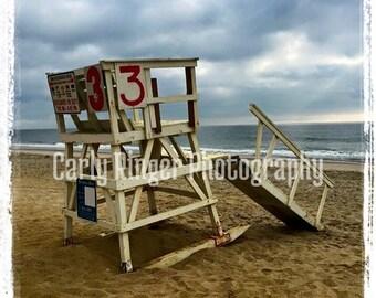 Shore: Lifeguard Chair Coaster