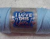 Yarn Destash 7 Ounces Acrylic Worsted Soft Blue I Love This Yarn