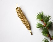 NEW Gold Fern Leaf bobby pin, woodland hairclip, wedding hair accessories, bridal hairclip, nature, hair jewelry