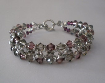 Crystal Chainmaille Bracelet