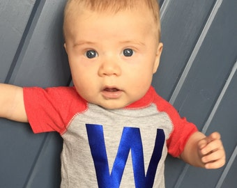 Chicago Cubs Fly the W Infant Onesie