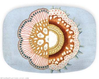 Sea Life II Platter melamine plate