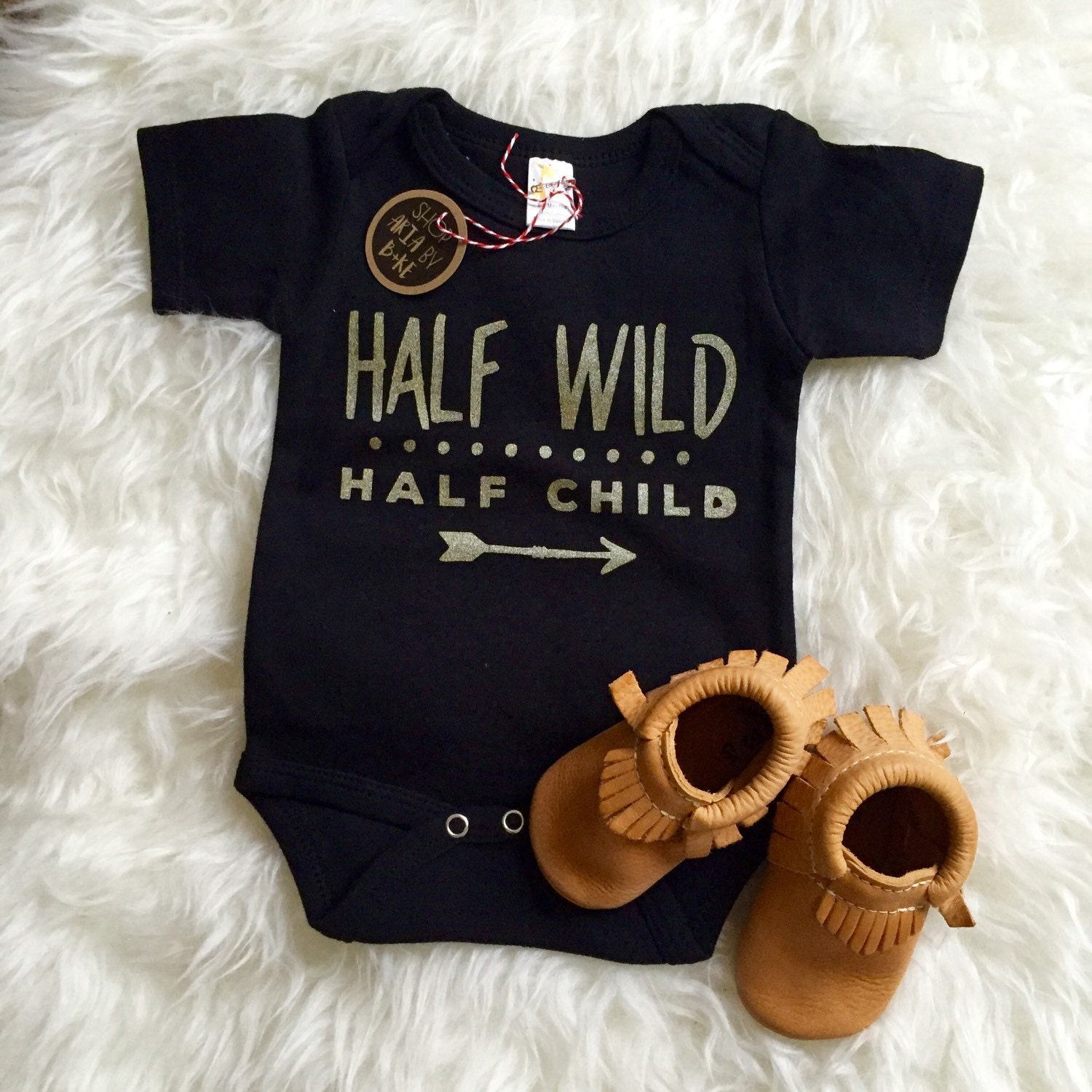 Baby Clothes Half Wild Half Child Baby By Aulaitbabyboutique
