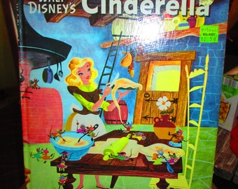 Vintage 70's Cinderella Storybook
