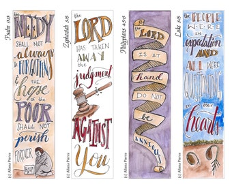 Advent 3 Bible Bookmark / Bible Journal Tag **INSTANT DOWNLOAD** Perfect Advent Activity!