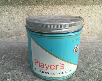 Very nice tobacco can Player filter