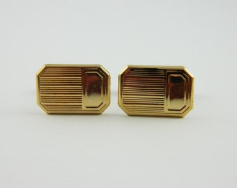 Classic Gold Cuff Links - CL010