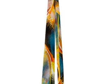 Fabulous Colorful Abstract Men's Neck Tie