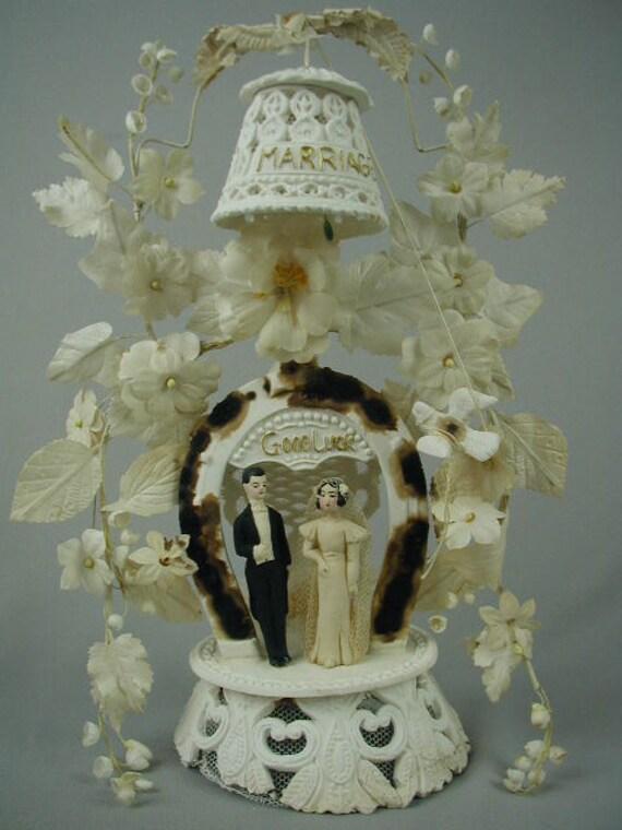 antique wedding cake topper victorian wedding cake topper. Black Bedroom Furniture Sets. Home Design Ideas
