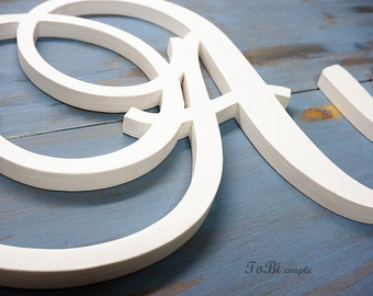 Wooden Letters, Nursery, Baby name