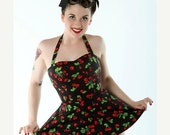 CLEARANCE Black Cherry Playsuit size IN STOCK